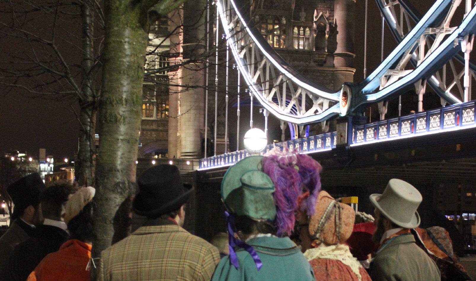 Victorian Christmas Tower Bridge