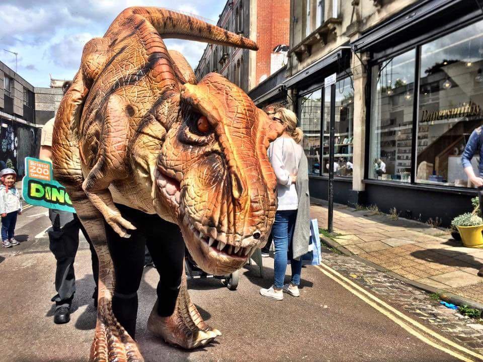 Bristol Zoo Dinosaur Puppet