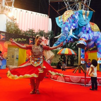 Dance Elephant Ferrari World
